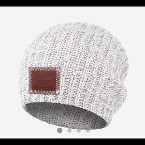 Love Your Melon Gray Speckled Beanie